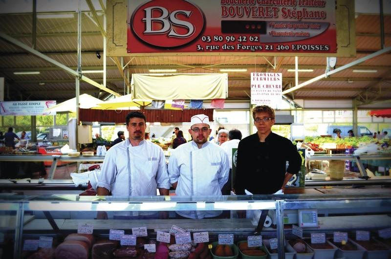 Bouveret Stéphane - Nos Bouchers / Charcutiers et Salaisons - HALLES DE MONTBARD, votre marché alimentaire de proximité - Voir en grand
