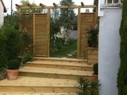 lames de terrasse pin autoclave ©lebrotceline