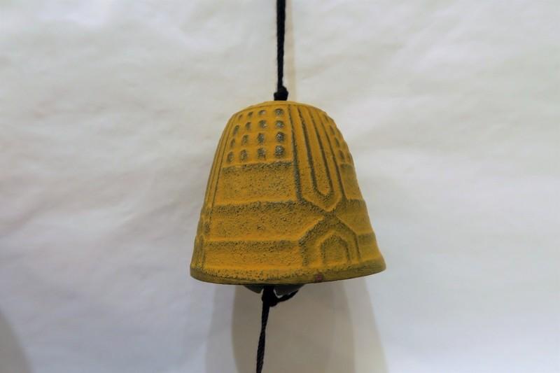 Petite cloche à vent jaune - Comptoir du Japon - Voir en grand