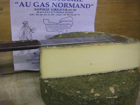Au Gas Normand Tomme suisse aux fleurs des Alpes - Voir en grand