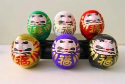 Mini daruma - Déco, ambiance, porte-bonheur - Comptoir du Japon - Voir en grand