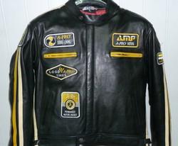 Blouson cuir vintage A.PRO ANGEL'S MOTOS DIJON CHENOVE