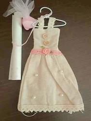 Faire part robe de mariée - Voir en grand