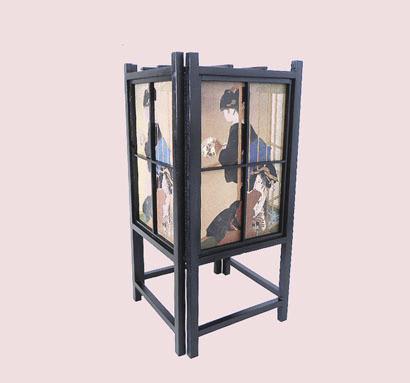 """Lampe japonaise """"geisha"""" - Comptoir du Japon - Voir en grand"""