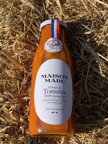 Velouté de Tomates 50 cl - Salés - FRUIROUGE & CIE - L'EPICERIE FERMIERE - Voir en grand