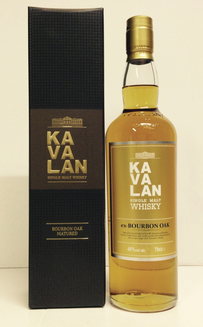 Kavalan Bourbon oak 46° W&S - Voir en grand