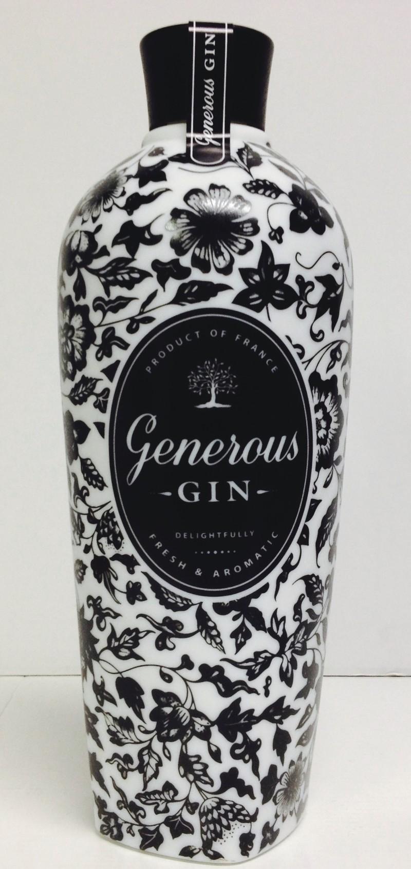 Gin Generous whiskies & Spirits - Voir en grand