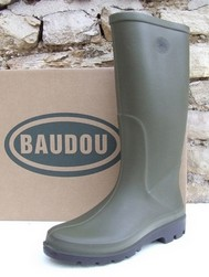Botte Polyuréthane Baudou, AIRIALE 30% de poid en moins !! - Bottes synthétiques BAUDOU - CHAUSSURES ROBUST - Voir en grand