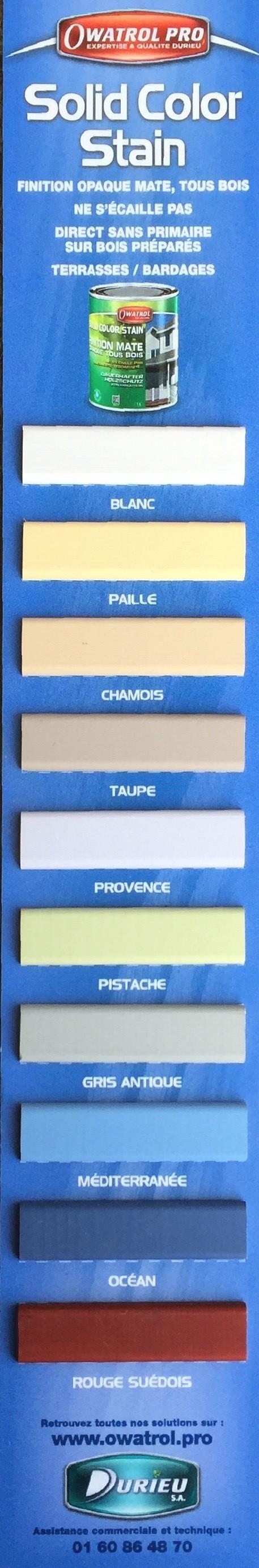 Owatrol DURIEU solid color stain couleur - Voir en grand