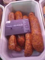 Saucisse Montbéliarde - Produits de choucroute - LA PETITE LOUISETTE - Voir en grand