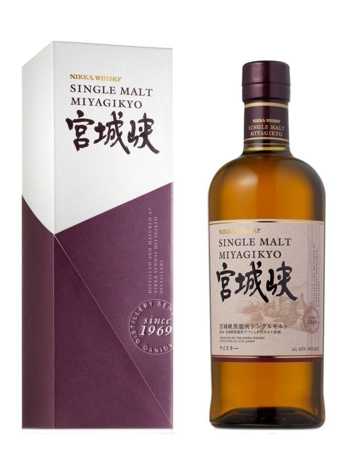 Miyagikyo single malt Whiskies & Spirits - Voir en grand