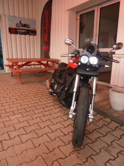 LEONART PILDER 125 modifiée ANGEL'S MOTOS DIJON CHENOVE - Voir en grand