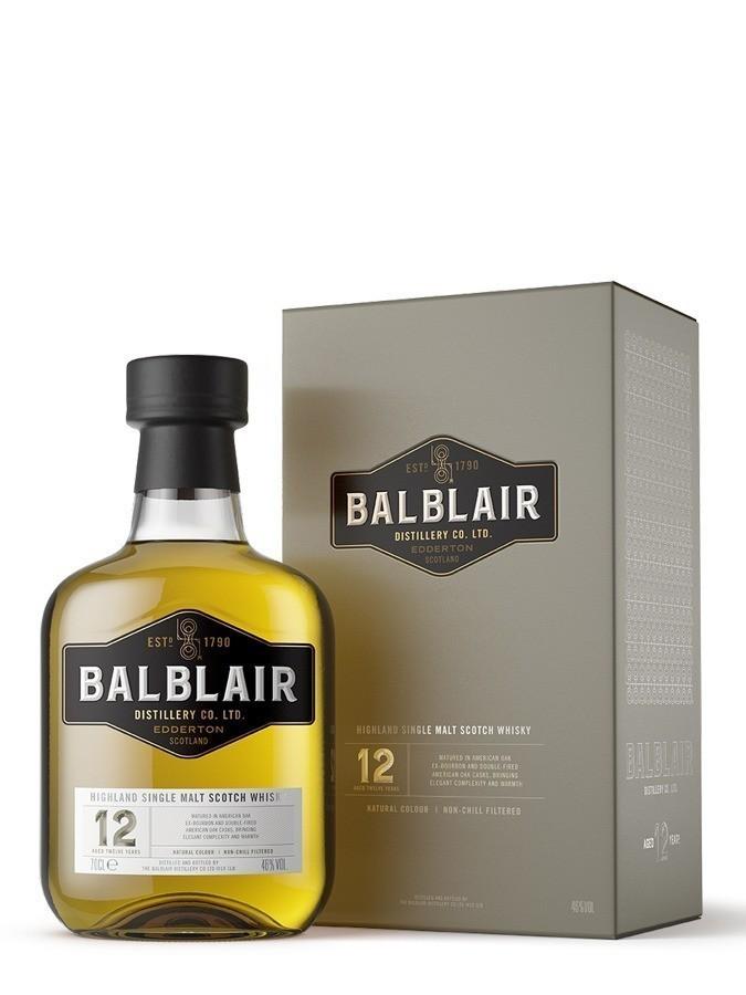 Balblair 12 ans Whiskies & Spirits - Voir en grand