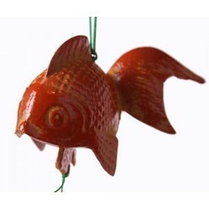 Cloche à vent poisson rouge - Comptoir du Japon - Voir en grand
