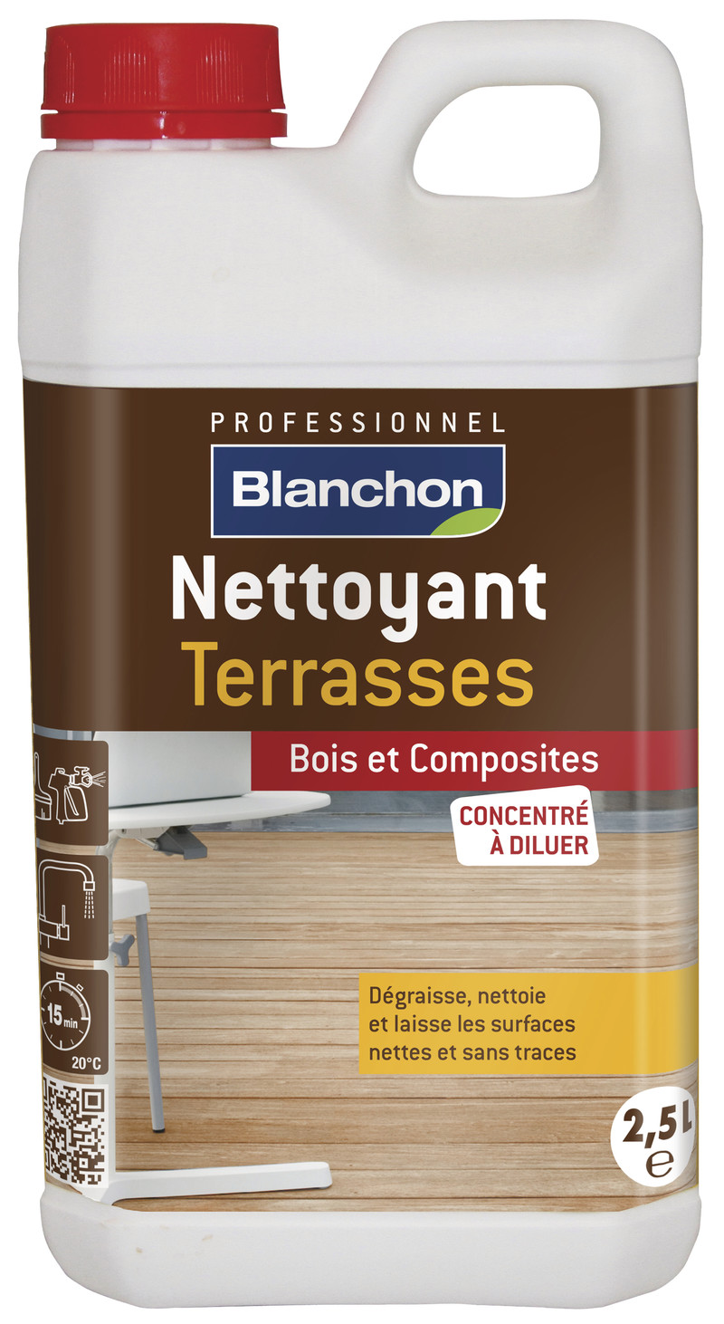 Nettoyant terrasse bois - 2.5 litres - Voir en grand