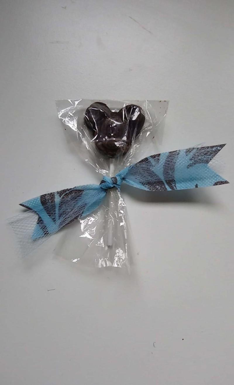Sucettes au chocolat Mickey ou Minnie - Voir en grand