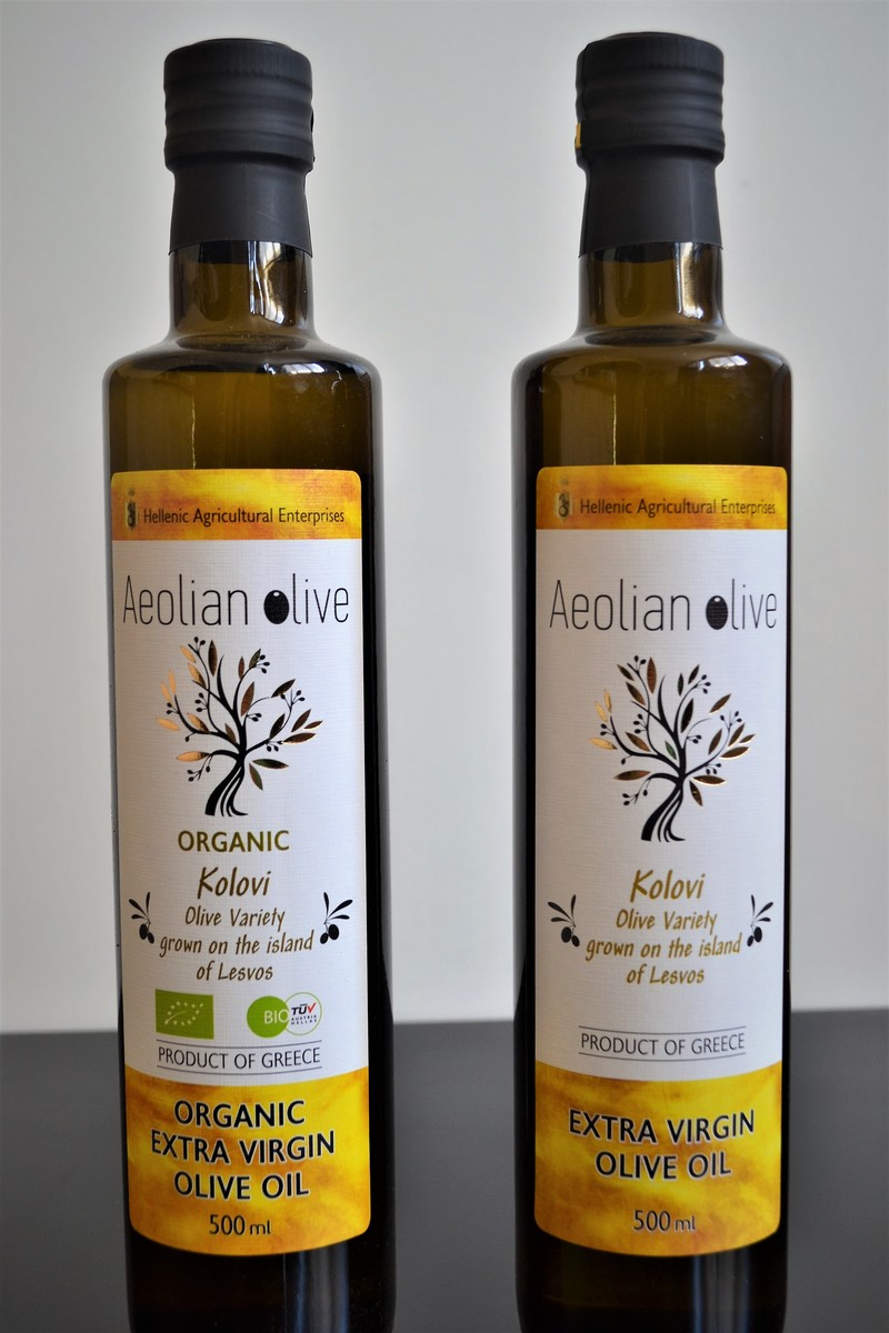 Huile D'Olive AEOLIAN - Huile d'Olive  - La Grèce Gourmande - Voir en grand