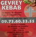 GEVREY KEBAB