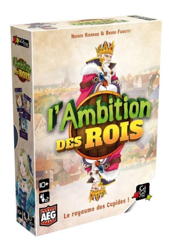 JEU L'AMBITION DES ROIS - 10 ANS + - ANGIE KDO - Voir en grand