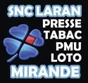 TABAC PRESSE PMU LARAN