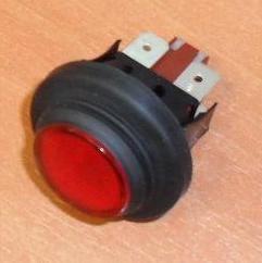 interrupteur vaporetto Polti Eco Pro rouge