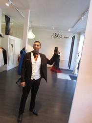 Costume homme marron - Voir en grand