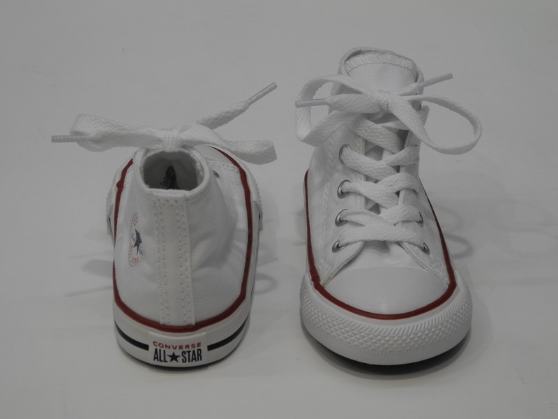 Chaussures montante blanc - Voir en grand