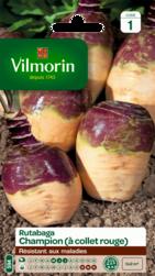 rutabaga champion a collet rouge vilmorin graine semence potager semis sachet - Voir en grand