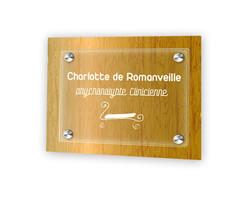 plaque plexiglas transparent, plaque pro 30x20cm, amalgame graveur grenoble - Voir en grand