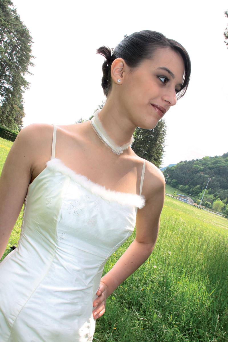 Robe modulable Caresse , détail robe - Voir en grand
