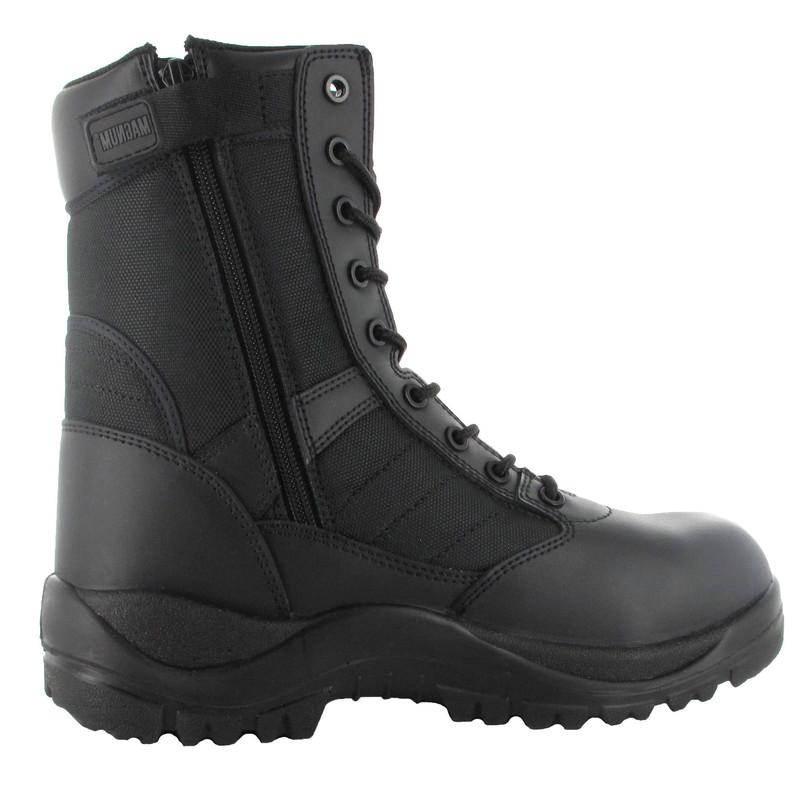 chaussures de sécurité magnum centurion 8.0 sz 1 zip confort légèreté performance cuir et nylon - Voir en grand