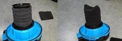 filtre mousse aspirateur AquaVac NTS NTP Industrial Boxter - Pièces détachées et accessoires AquaVac - MENA ISERE SERVICE - Pièces détachées et accessoires électroménager - Voir en grand