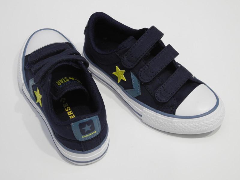 Converse étoile jaune - Voir en grand