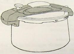 Cocotte Squadra Sitram-Joint, régulateur, poignées, panier.. - Pièces détachées et accessoires Sitram - MENA ISERE SERVICE - Pièces détachées et accessoires électroménager - Voir en grand