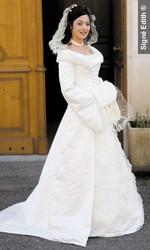 Robe modulable Floconnelle Version cérémonie - Voir en grand