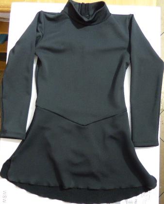 Tunique de Patinage sur Glace Elite Xpression Ref 46TE03 - ARTISTIQUE - GREEN et GLACE Patinage et sportwear - Voir en grand