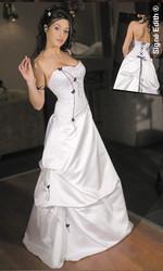 Robe de mariée scintille version soirée - Voir en grand