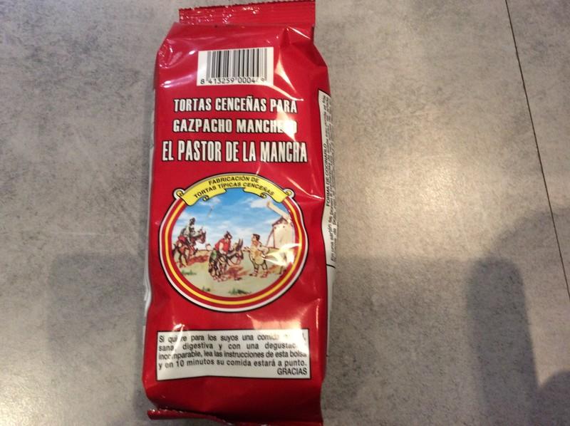 tortas cenceñas para gazpacho manchego  - EPICERIE ESPAGNOLE - LA COCINA, Saveurs d'Espagne - Voir en grand