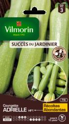 courgette adrielle vilmorin graine semence potager semis sachet - Voir en grand