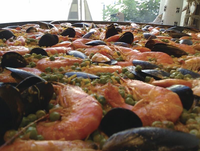 Grande Poêle de paella - à partir de 6 personnes -  - LA POELE A PAELLA - Voir en grand