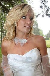 Robe de mariée modulable constellation détail devant - Voir en grand