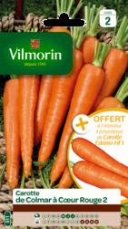 carotte de colmar a coeur rouge 2 vilmorin graine semence potager sachet semis