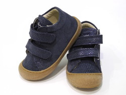 Chaussure bébé marine irisé
