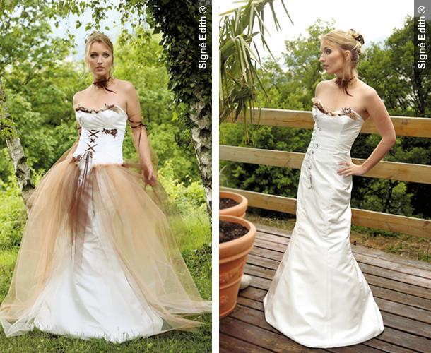 robe de mariee modulable grenoble - Création
