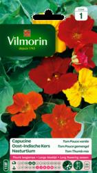 capucine tom pouce variee vilmorin graine semence sachet massif