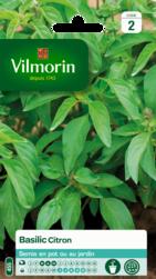basilic citron vilmorin graine semence aromatique potager sachet semis - Voir en grand