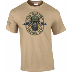 t.shirt manches courtes push your limit summit outdoor 100% coton tan/coyote confort