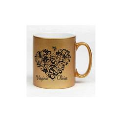 MUG OR en céramique, personnalisé, un superbe coeur, ou avec votre visuel, 19¤, Grenoble - Voir en grand