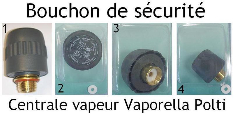 """Polti Bouchon Sécurité Joint D/'Étanchéité 3//8 /"""" Vaporella Pro 505 507 515 525"""