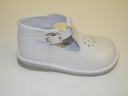 Chaussure sandale blanche Bopy - Voir en grand